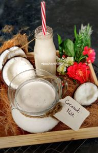 2 ingredient Homemade Coconut milk